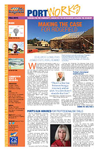 Port Newsletter 2015 Fall
