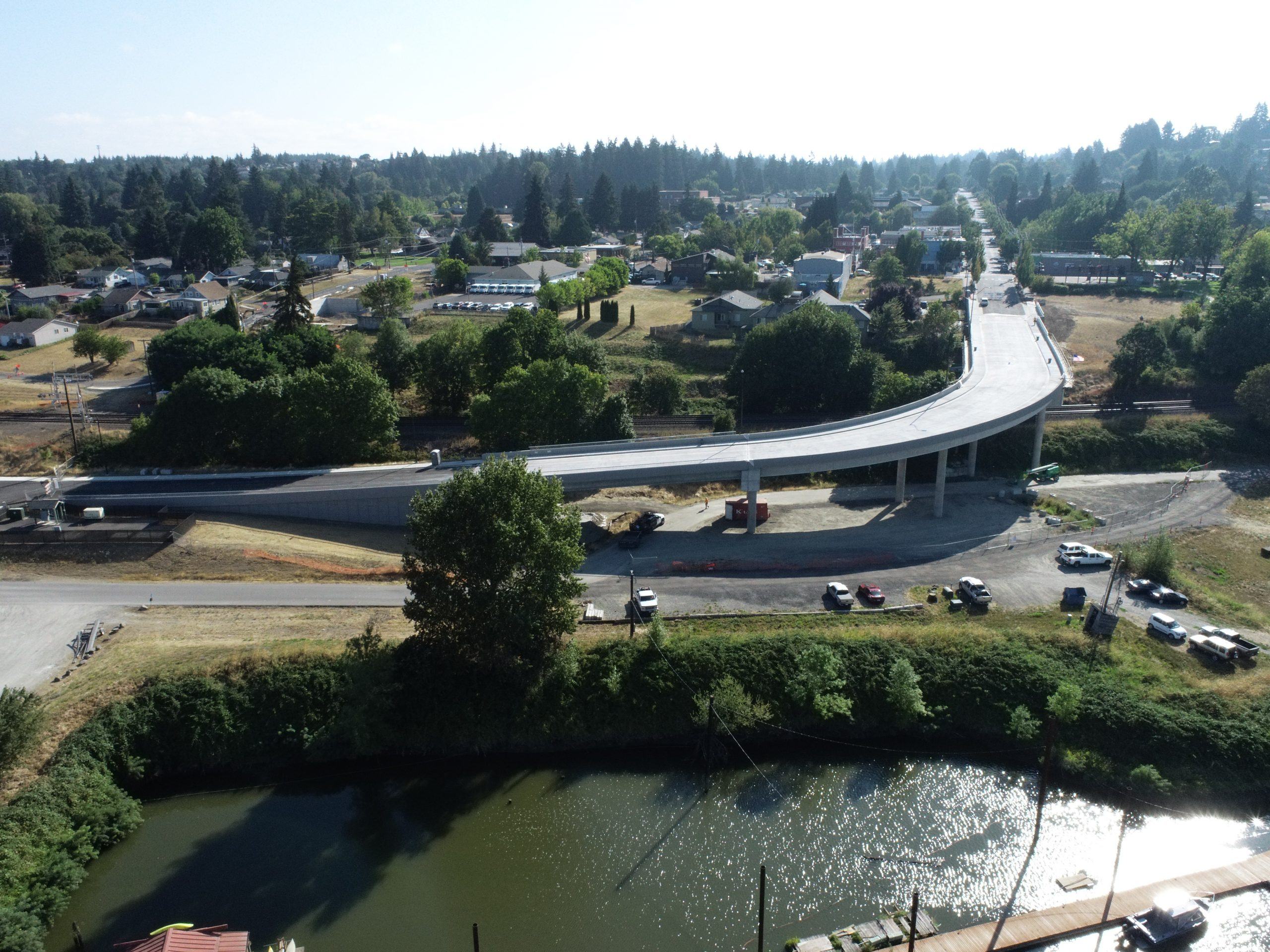Rail Overpass Completion Celebration - Click for More Photos!