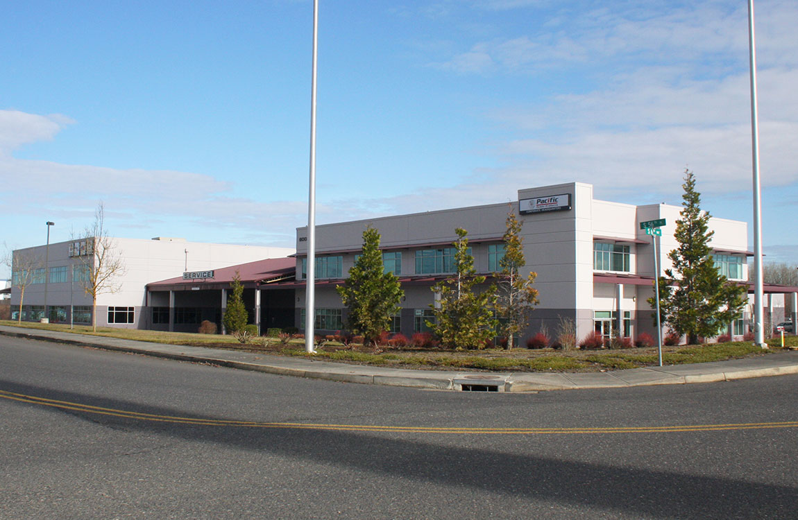 Pacific office building