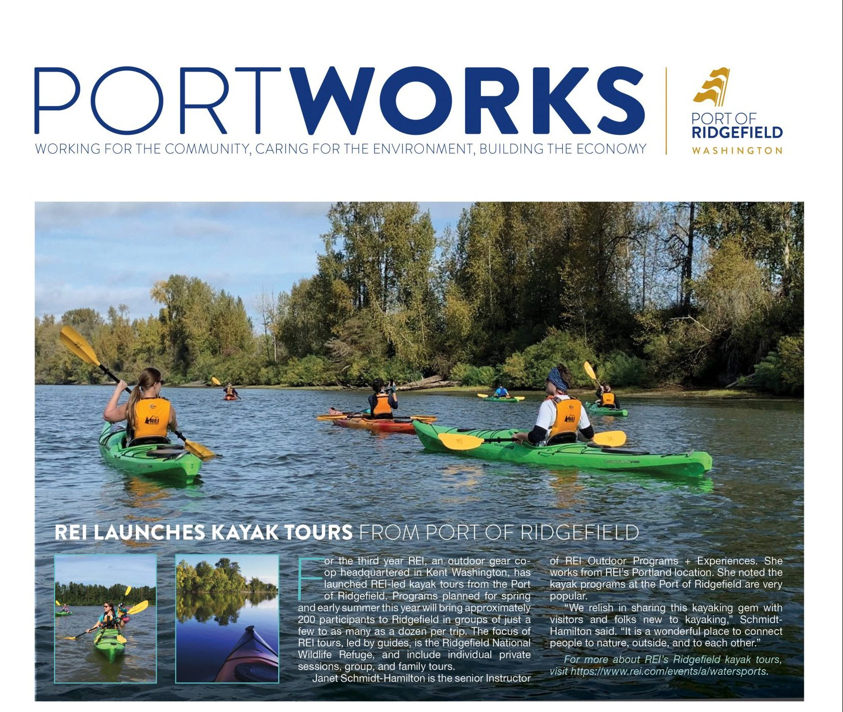 PortWorks SPRING 2021 Now Available!